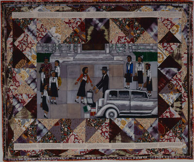 Faith Ringgold, 'The Bitter Nest, Part 1: Love in the School Yard', 1988