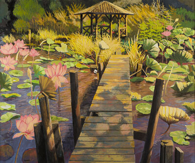 Anne Lyman Powers, 'Lotus Garden'