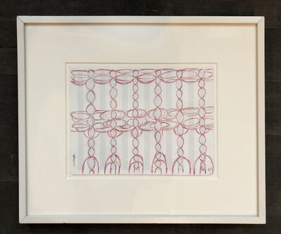 Louise Bourgeois, 'Change the direction of the music staff', 1997