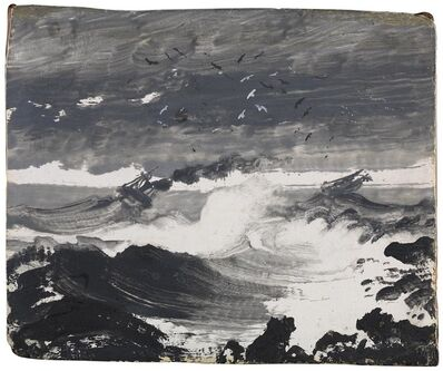 Peder Balke, 'The Tempest', about 1860