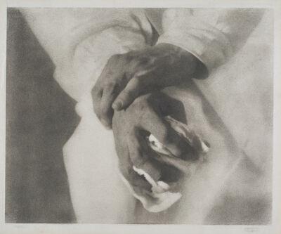 Heinrich Kühn, 'Hands', 1915