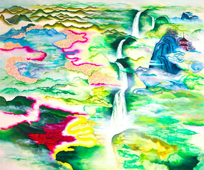 Katy Lynton, 'Waterfall of Celestial Realms', 2009