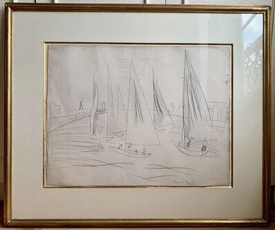 Raoul Dufy, 'Sortie des voiliers à Deauville', ca. 1930