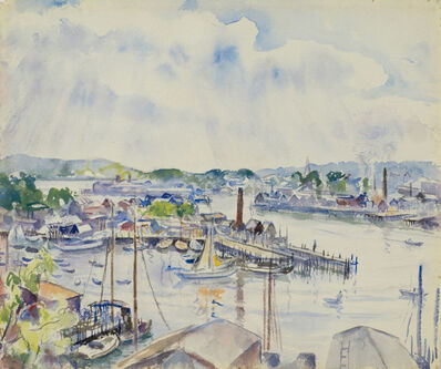 Martha Walter, 'Gloucester Harbor, Massachusetts', 19th -20th Century