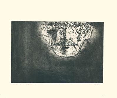 Leonard Baskin, 'Edvard Munch', 1964
