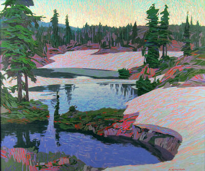 Mike Ferguson, 'Mountain Stream, Thaw', ca. 2014