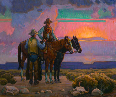 Tim Solliday, 'Sunset Cowboy', 2019