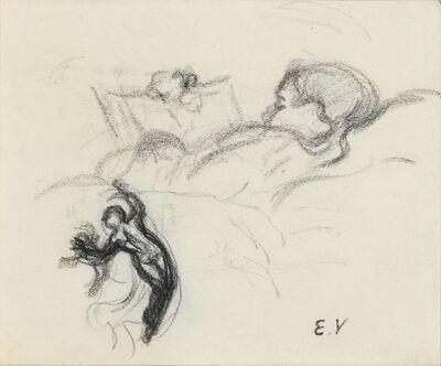 Édouard Vuillard, 'Personnage Lisant', 1914