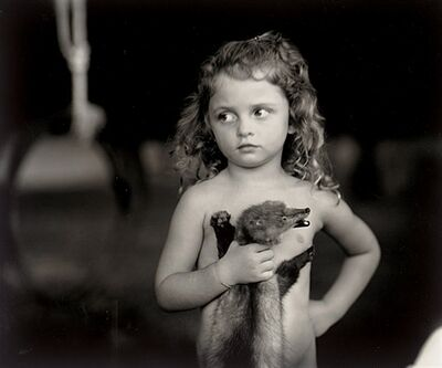 Sally Mann, 'Holding the Weasel', 1989