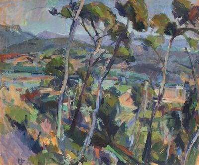 Louis Finkelstein, 'Val du Tholonet', 1971