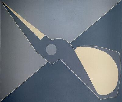 Mao Xuhui 毛旭辉, 'Outline, Half Scissors, Diagonal', 2008