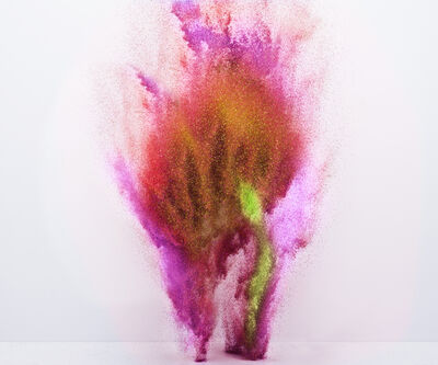 Yee Wong, 'Exploding Powder Movement: Red'
