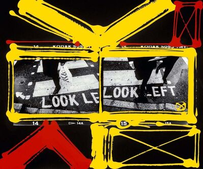 William Klein, 'Look Left, London 1998-2006', 2019