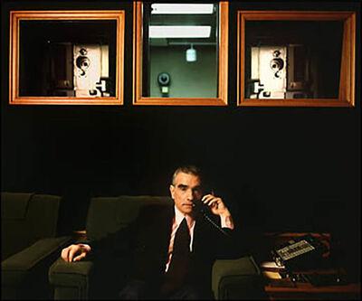 Lynn Goldsmith, 'Martin Scorsese: A Retrospective'