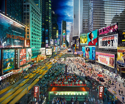 Stephen Wilkes, 'Times Square, New York', 2010