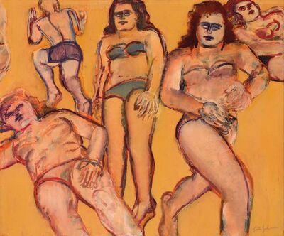 Lester Johnson, 'Silver Beach #4', 1972