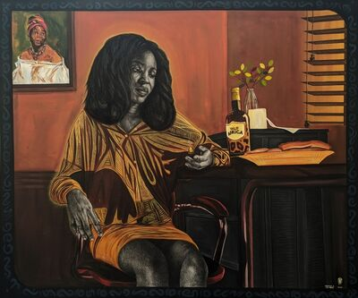 Ikeorah Chisom Chi-Fada, 'Sunset before breakfast', 2020