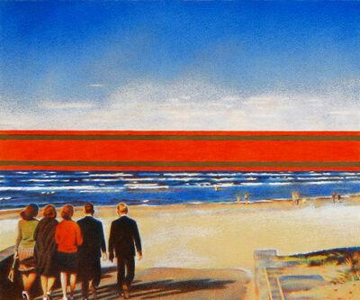 Erik Bulatov, 'Red Horizon'