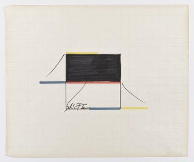 Keith Sonnier, 'Untitled Ba-O-Ba Drawing', 1977