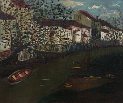 Iberê Camargo, 'Riacho', 1948