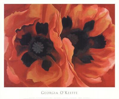 Georgia O'Keeffe, 'Oriental Poppy', 2000