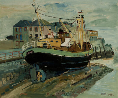 Fred Yates, 'The Boat Dock', 1990s