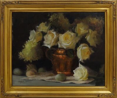 Mary Beth Karaus, 'Eggs and Roses'