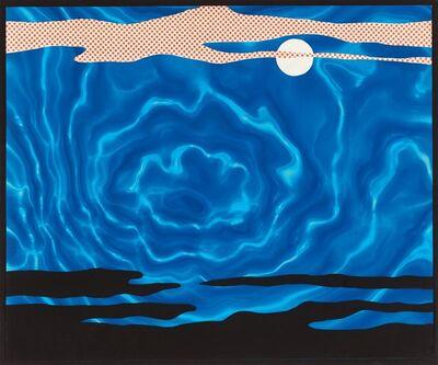 Roy Lichtenstein, 'Moonscape', 1965