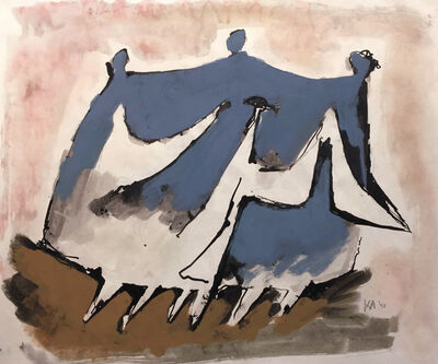 Kenneth Armitage, 'Family going for a Walk', 1952