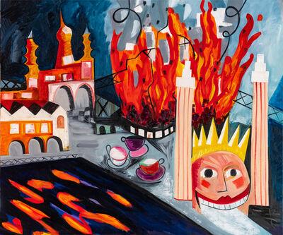 Mark Schaller, 'Luna Park on Fire', 2019