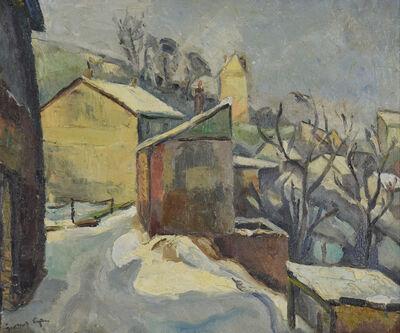 Georges Cyr, 'Neige à Rouen', 20th Century