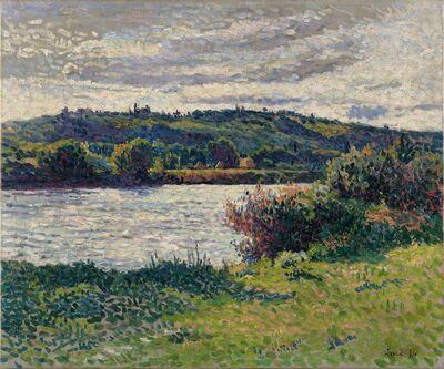Maximilien Luce, 'La Seine aux Grésillons', 1890
