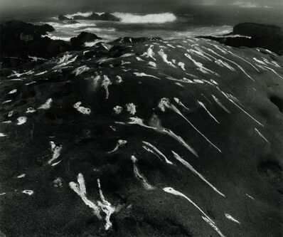 Minor White, 'Bird Lime and Surf, Point Lobos, California, 1951', 1951-printed later