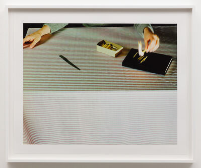 Jo Ann Callis, 'Lighting Matches', ca. 1979
