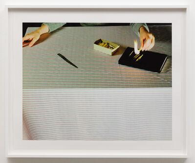 Jo Ann Callis, 'Lighting Matches', ca. 1979