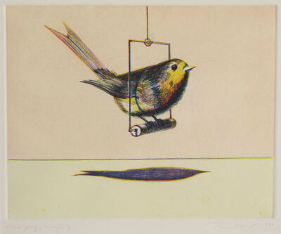 Wayne Thiebaud, 'Bird', 1979