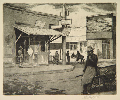 Louis Griffith, 'Untitled (Street Scene)'