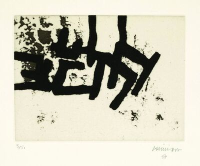 Eduardo Chillida, 'Continuation II', 1966
