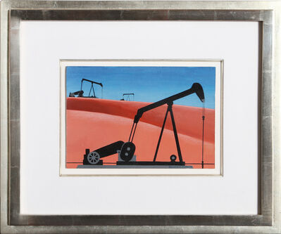 Clarence Holbrook Carter, 'Oil Well', 1979