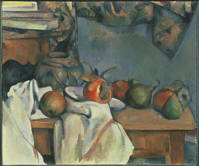 Paul Cézanne, 'Ginger Pot with Pomegranate and Pears', 1893