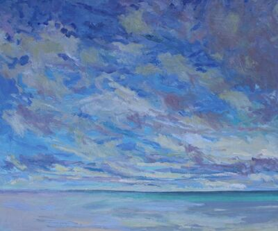 Priscilla Whitlock, 'Morning Clouds, Ocean', 2018