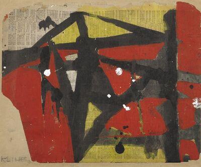 Franz Kline, 'Untitled III', 1952