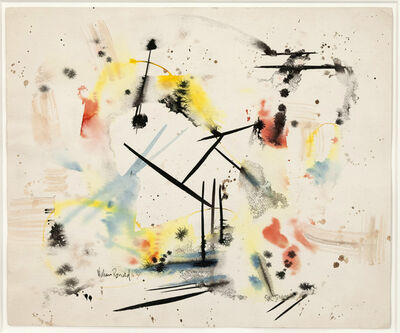 William Ronald, 'Untitled Drawing', 1954