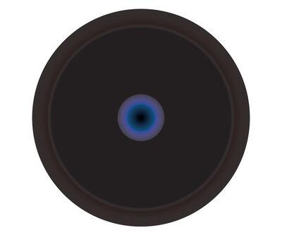 Ruth Adler, 'Deep Black Circle'