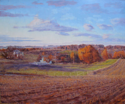 Henry Coe, 'Spring Valley in Fall', 2009