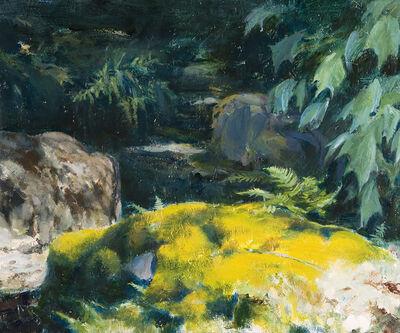 John Koenig, 'Deep Woods I Lycopodium'