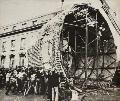 Marta Minujin, 'La Torre de pan dulce de James Joyce', 1980