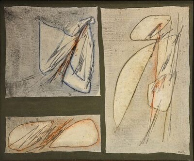 Achille Perilli, 'Lo Spazio solido', 1962