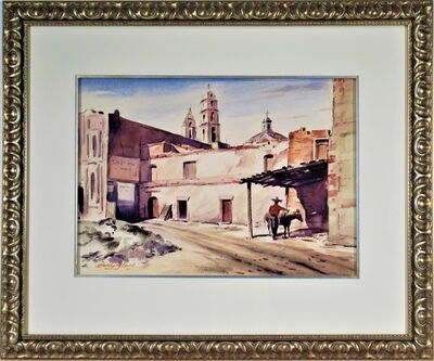 """Stanley M. Long, '""""Down in Mexico Way""""', 1955"""