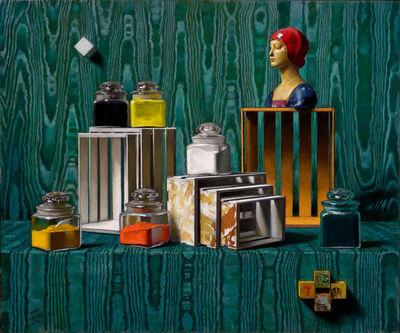 Daniel Greene, 'Pigment Jars, Boxes, & Statue', 2013